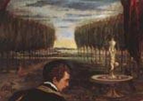 Venus with organist and cupid detail 1548 xx museo del prado madrid